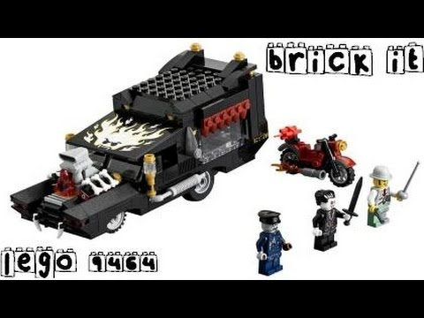Vidéo LEGO Monster Fighters 9464 : Le corbillard du vampire