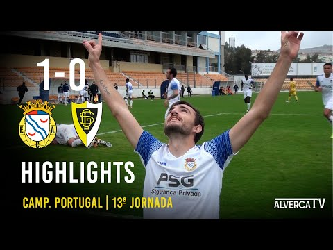 FC Alverca 1-0 GS Loures - Highlights