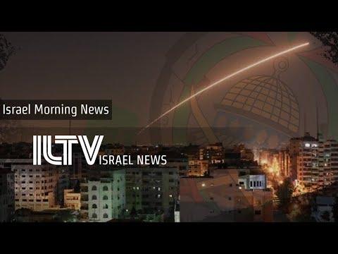 Iron Dome intercepts 3 rockets - ILTV Israel news - Dec. 8, 2019