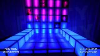 Party Harty Entertainment - Illuminated Decor Cubes