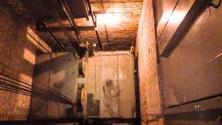 Ремонт грузового лифта-монстра на 3.2 тонны с идеальным машинным помещением