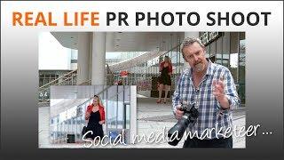 Social media PR Photoshoot