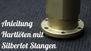Anleitung Zum Löten / Hartlöten Mit Silberlot