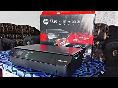 Impresora HP 3545 Unboxing y Primeras Impresiones