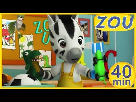 Zou en Français  🚗 Compilation d'épisodes en entier! 🐊 40 min COMPILATION | Dessins animés