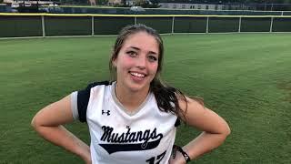 Softball Recap | Centennial HS | Soph. Kendall Slayden | 09-17-19