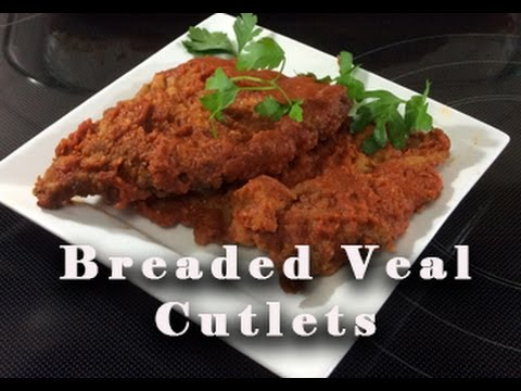 Video DELICIOUS Breaded Veal Cutlets