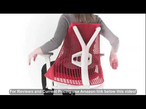 Herman Miller Sayl Task Chair: Tilt Limiter - Adj Lumbar Support - Adj Seat Depth - Height Adj