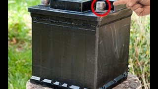 Bring your old Batteries back to life - Car battery reconditioning: How to