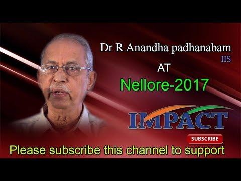 Civils Prepare   R Anandha Padhanabam    TELUGU IMPACT Nellore 2017