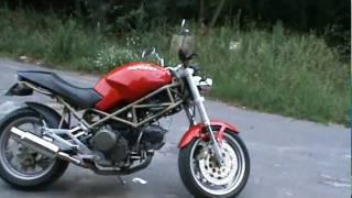 Ducati Monster 750 amazing sound!