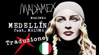 Medellin (Traduzione ITA)   Madonna, Maluma | HD