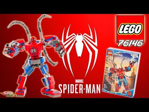 Vidéo LEGO Marvel Super Heroes 76146 : Le robot de Spider-Man