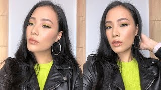NEON GREEN Makeup / Chat With Me