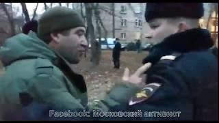 Жесткое задержание сотрудника ЧОП ПИКа