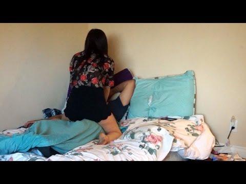 Wife caught cheating prank