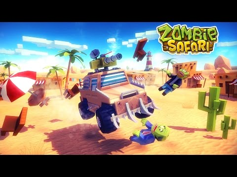 Zombie Safari - Official Gameplay Trailer (Android)