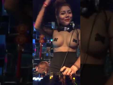 Nữ DJ Vòng Một To Nhất Việt Nam - Hài Cường Cá