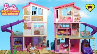 Nueva Casa De Barbie Con Literas Y Piscina - Dreamhouse Adventures