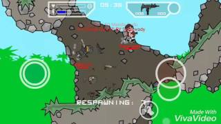Mini militia Pro Pack mod apk V2.2.86 with hd background unlimited jetpack & bullets