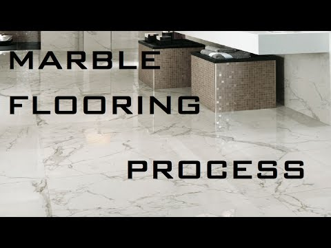 Process Of Marble Flooring At Site I By Learning Technology
