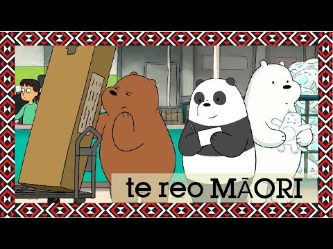 We Bare Bears | Assembly Required (Māori) | Cartoon Network