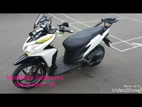 Video Modifikasi Stang Vario 125 memakai Byson