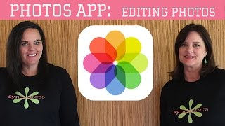 Ipad/iPhone editing photos