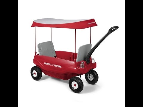 Radio Flyer Deluxe All Terrain Family Wagon Ride On