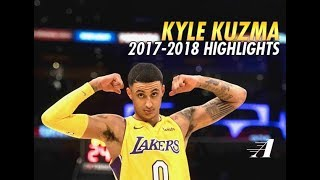Kyle Kuzma Rookie Year Offensive Highlights !!