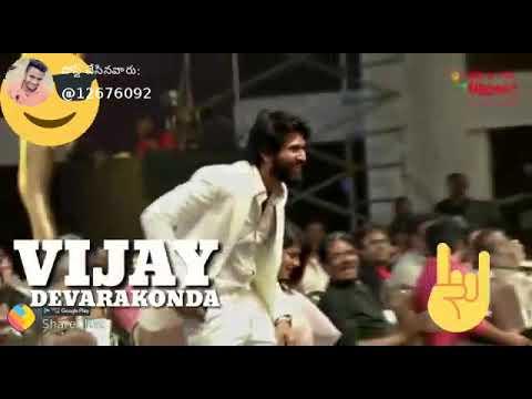 Youth icon of Telugu cinema....Rowdy😎 vijju😍😍😘