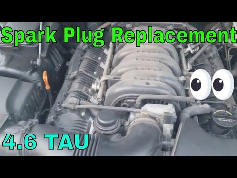 How to change spark plugs on a 4.6 genesis sedan
