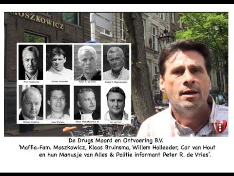 Maffia-Fam. Moszkowicz' &Willem Holleeder & Cor Van Hout&AIVD- Peter R. de Vries & Klaas Bruinsma