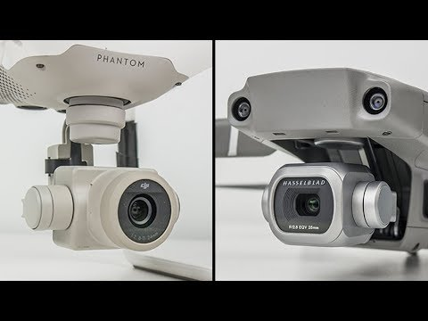 DJI Mavic 2 Pro vs. Phantom 4 Pro Image Quality Comparison