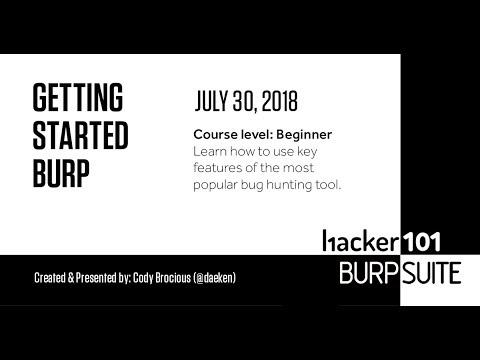 Getting Started With Burp - Thủ thuật máy tính - Chia sẽ