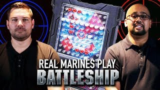 Real Marines Play Battleship