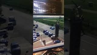 В Сочи «семерка» протаранила машину такси