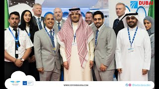 أكاديمية اكسفورد السعودية للطيران في معرض دبي الجوي ٢٠١٩