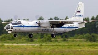 Ан-30 RA-30078 Открытое Небо Кубинка посадка.