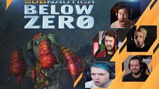 Gamers Reactions to Rock Puncher | Subnautica: Below Zero