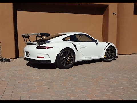 2016 Porsche 911 GT3 RS in Grand Prix White & Engine Sound on My Car Story with Lou Costabile
