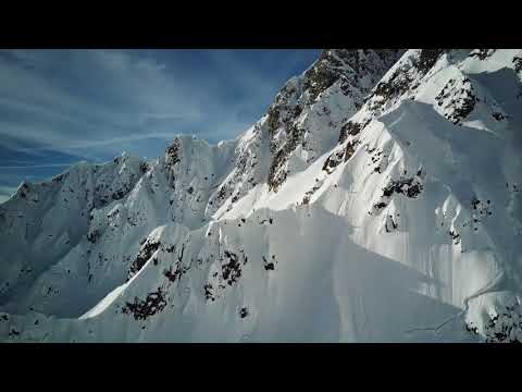 Freeride in Les Marécottes, Switzerland