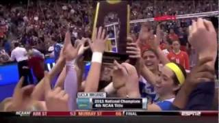UCLA Bruins Women's Volleyball 2011 - One Shining Moment