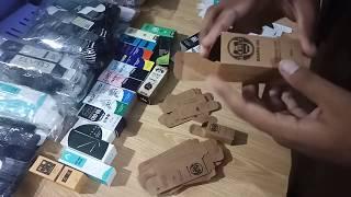Craft Cardboard boxes | 10ml & 30 bottle Boxex