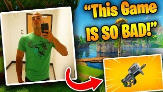 HighDistortion Explains Why Fortnite Is Getting WORSE! (P90 Reaction)   Fortnite Battle Royale