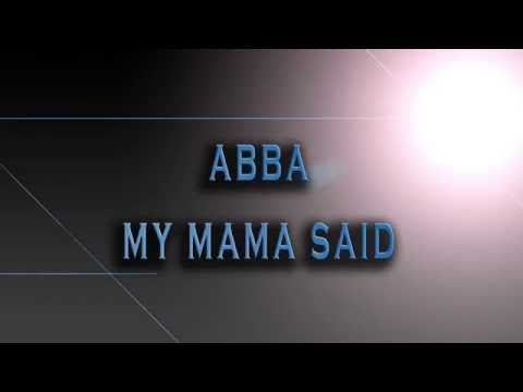 ABBA-My Mama Said [HD AUDIO]