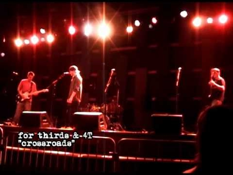 """Benjamin Oaks & 4T w For Thirds @ World Cafe Live performing """"Crossroads"""""""