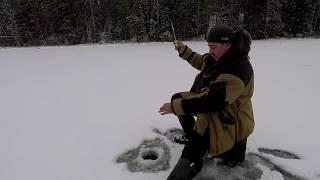 Зимняя рыбалка в карелии 2019