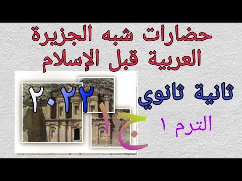 talb online طالب اون لاين أبسط شرح #حضارات شبه الجزيرة العربية قبل الإسلام #الدرس الأول _ثانية ثانوي2022 نرمين عمرو