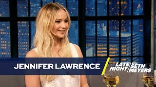 Jennifer Lawrence Is Obsessed with Pippi Lawrence-Stocking